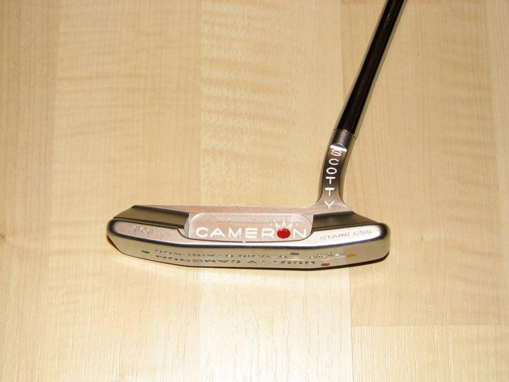 Scotty Cameron Left Handed Putters >> For Sale Left Handed 34 Scotty Cameron Studio Stainless Newport 2 5